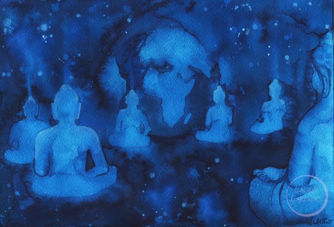 Bouddha prayer 1 L