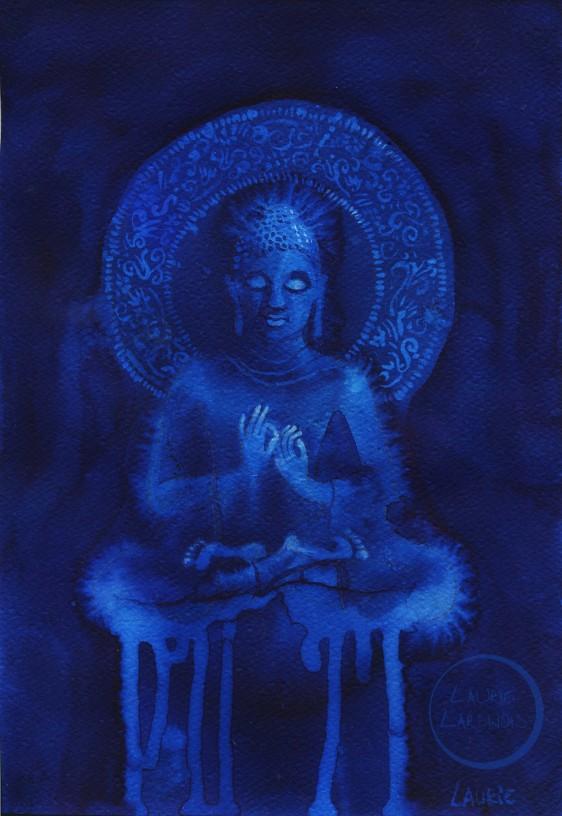 Bouddha water L