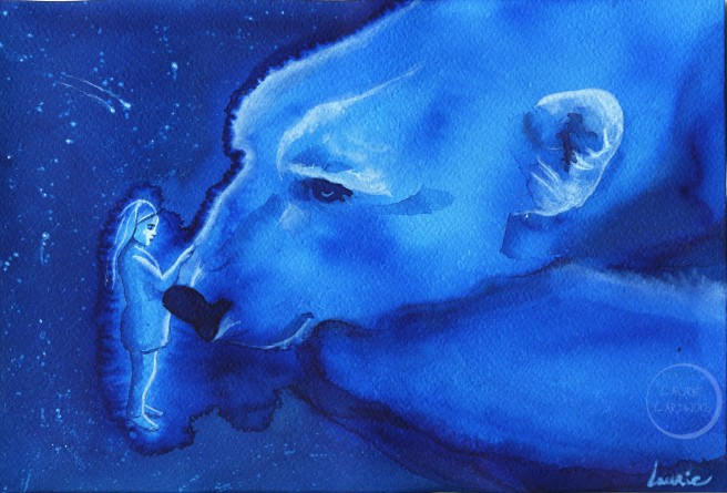 The dream of the white bear L