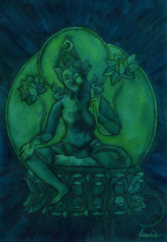 Green Tara #2 Edit L