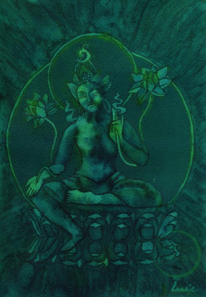 Green Tara #2 L