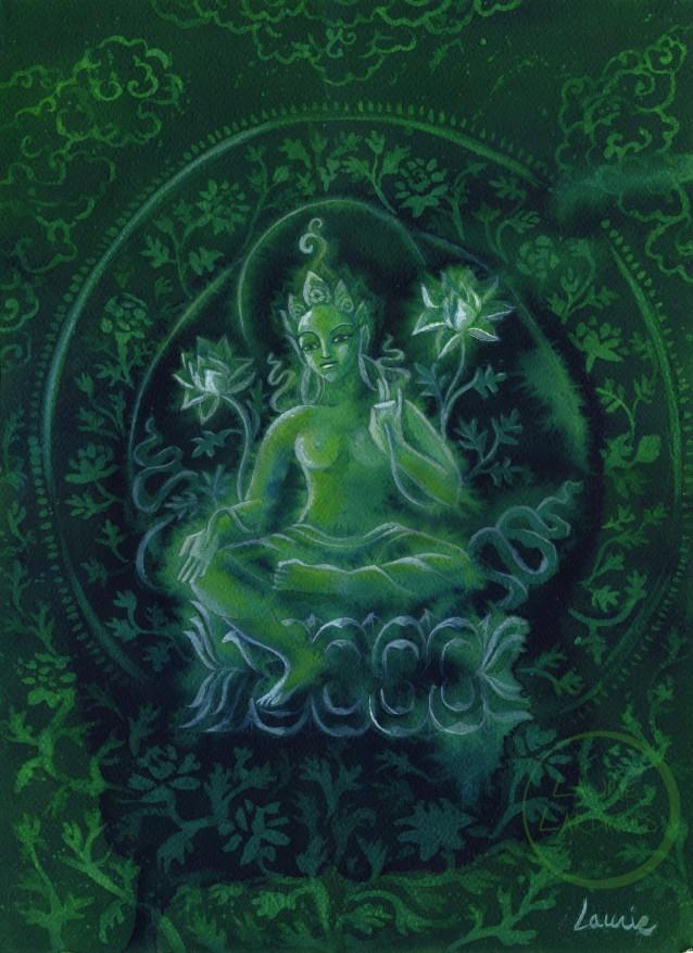 Green Tara Edit L