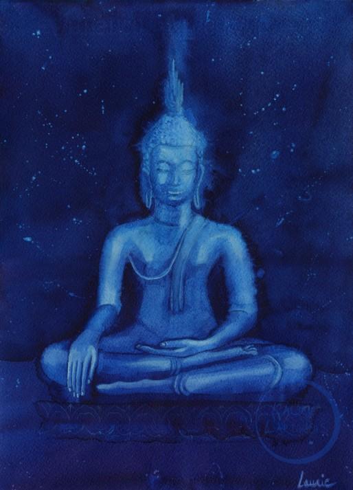 Thai Bouddha 2 L